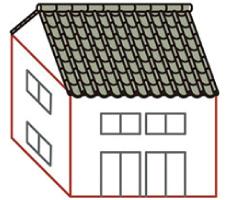 屋根が重い