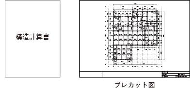 構造計算書、プレカット図